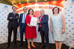 Premio Empresa Familiar de Navarra 2017